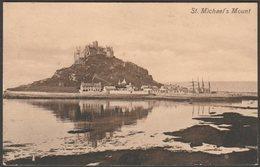 St Michael's Mount, Cornwall, 1911 - Valentine's Postcard - St Michael's Mount