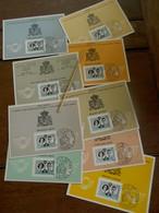 LOT Van 9 Stuks  Herinnering  Huwelijk KK. HH. Boudewijn En  Dona Fabiola - Souvenir Cards