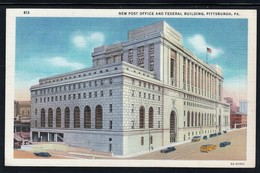CPA - PITTSBURGH - New Post Office And Federal Building (lot 401) - Pittsburgh
