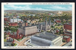 CPA - PITTSBURGH - Bird's-Eye View East From Cathedral Of Learning (Lot 403) - Pittsburgh