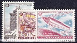 ** Tchécoslovaquie 1957 Mi 1055-7 (Yv 939-41), (MNH) - Unused Stamps