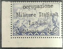 ITACA 1941 CEFALONIA MITOLOGICA DRACME DRX 2d MNH - Cefalonia & Itaca