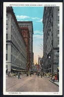CPA - PITTSBURGH - Smithfield Street From Diamond Street, Looking North (Lot 407) - Pittsburgh