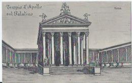 Roma - Tempio D'Apollo Sul Palatino - E.F. Riproduzione Interdetta - Other Monuments & Buildings