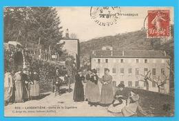 835 -- LARGENTIERE - Usine De La Cigalière - Voyagée 1908 -- USINE - Ardéche - Largentière - Largentiere