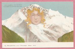 Suisse - Alpes - SURREALISME - Jungfrau - KILLINGER - Carte Attribuée à Emil HANSEN - NOLDE - BE Berne
