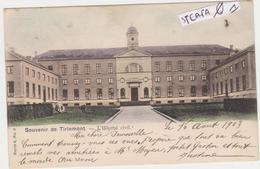Tienen, Thienen, Tirlemont, Oude Gasthuis, Gebombardeerd In 1944, Prachtige Kleurenkaart, COLLECTORS!!!!! - Tienen