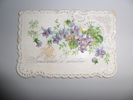 Carte De Voeux   Carte Mignonette  Petite Carte  Wenskaartje - Non Classés