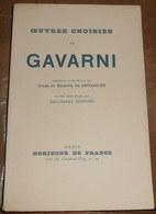 Œuvres Choisies De Gavarni - Art