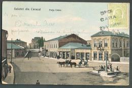 5b. Vert Annulé Par La Griffe Ambulante 'ferroviaire) CARICAL GARA 294 - 21 Avril 1911 Vers Spa (Belgique) - 13159 - 1881-1918: Charles I
