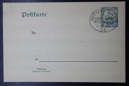 Deutsche Post In Kamerun Postkarte  Deutsche Seepostlinie Hamburg - Westafrika Cancel - Kolonie: Kamerun