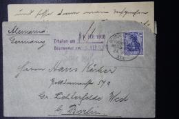 Deutsche Post In Kamerun  Brief  Deutsche Seepost Hamburg - West Afrika Linie - Kolonie: Kamerun
