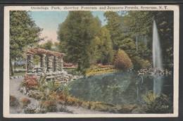 CPA - NEW YORK City - Onondaga Park, Showing Fountain And Japanaise Pergola, Syracuse (Lot 415) - Syracuse