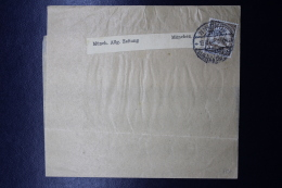 Deutsch-Südwest-Afrika Streifband Mit Briefmark  Mi 24  Windhoek - Colonie: Afrique Sud-Occidentale