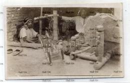Kuwait 1910s Era Postcard Showing Arab Weavers - Koweït