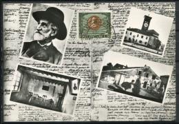 Italia 1963 Cartolina Maximum 100% Giuseppe Verdi - Cartoline Maximum