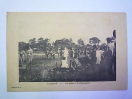 DAHOMEY  :  L'ARTILLERIE  à  PORTO-NOVO   XXX - Dahomey