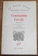 Présentation Critique De Constantin Cavafy 1863-1933 Suivie D'une Traduction Intégrale De Ses Poèmes - Poésie
