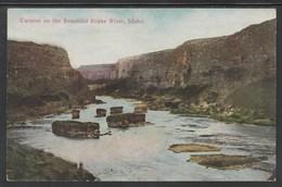 CPA - IDAHO - Canyon On The Beautiful Snake River (Lot 421) - Etats-Unis