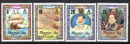 Tristan Da Cunha 1980 400th Anniversary Of Drake's Circumnavigation Set Of 4, MNH, SG 283/6 - Tristan Da Cunha