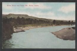 CPA - IDAHO - Boise River And Table Mt. (Lot 424) - Etats-Unis