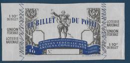 France Billet De Loterie - Billet Du Poilu - Spécimen - Billets De Loterie