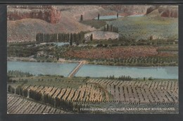 CPA - IDAHO - Perrine Ranch And Blue Lakes, Snake River (Lot 427) - Etats-Unis