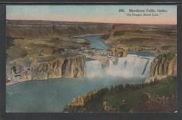 """CPA - IDAHO - Shoshone Falls """"On Oregon Short Line"""" (Lot 430) - Etats-Unis"""