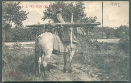 C.P. LE PECHEUR DE CREVETTES à Cheval Exp. De OOST-DUINKERKE Le 19-VI-1911 Vers Ypres - 13172 - Oostduinkerke