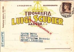 ** PADOVA.-LUIGI SCUDIER.-TIPOGRAFIA.-** - Padova (Padua)