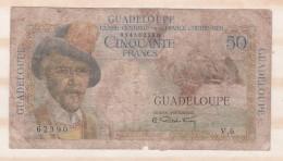 50 Francs Guadeloupe .Caisse Centrale De La France D Outre Mer. - Non Classés
