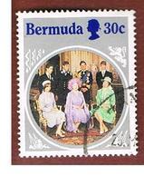 BERMUDA - MI 459  -   1985 QUEEN MOTHER' S 80 BIRTHDAY                                                      -   USED° - Bermuda
