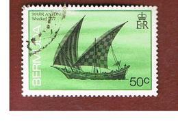 BERMUDA - MI 480  -   1986  SHIPS: MARK ANTOINE 1777                                                -   USED° - Bermuda