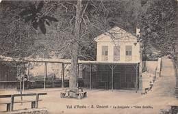"0332 ""(AO) VAL D'AOSTA - S. VINCENT - LA SORGENTE - FONS SALUTIS-1914"" VEDUTA, TIMBRO HTL DES BAINS.  CART  SPED - Other Cities"