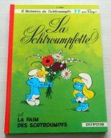 La Schtroumpfette Et La Faim Des Schtroumpfs - DESSIN Fauté Peu Courant - EO - PEYO - DUPUIS - 1967 - Schtroumpfs, Les