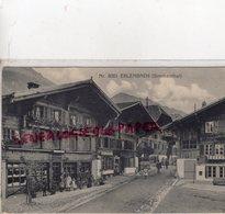 SUISSE - ERLENBACH -SIMMENTHAL - BERNE -BERN- 1918 - BE Berne