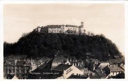 LJUBLJANA - LAIBACH - Ljubljanski Grad, Fotokarte Gel.1931, 2 Fach Frankierung - Slowenien