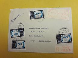 Lettre Poste De Morsang S/orge Le 14/05/1985 Oblitéré Timbre Centre Nationale D Etude De Communication Numéro 2317 - 1961-....