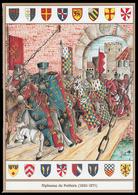 SCHEDA - Editrice Militare Italiana - Alphonse De Poitiers / Stemmi Araldici (1220 - 1271) - Militari