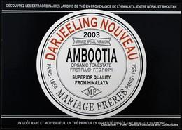 Mariage Frères Magasin Winkel Shop Thé Tea Darjeeling Ambootia - Magasins
