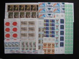 TB Lot De Timbres De France En Fragments De Feuilles.  Neufs . Faciale =  205 Euros ( Surtaxes Non Comptées). - Stamps