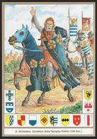 SCHEDA - Editrice Militare Italiana - San Giminiano - Cavaliere Della Famiglia Pellari / Stemmi Araldici (XIII Secolo) - Militari