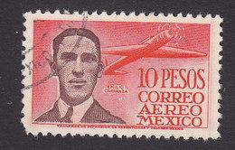 Mexico, Scott #C178, Used, Emilio Carranza, Issued 1947 - Mexico