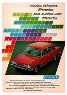 RECORTE DE PRENSA REVISTA O PERIÓDICO PUBLICIDAD COCHE FIAT AUTOMÓVIL COCHE Y TUPPERWARE ADVERTISING PRESS AUTOMÓVIL VER - Publicidad