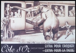 Chocolat Chocolate Chocolade Côte D'or Eléphant Train Trein - Autres