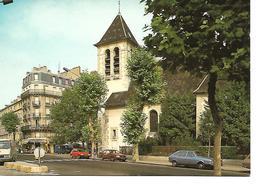 92 - CLICHY - L'Eglise (Rue De L'Eglise - Automobiles) - Clichy