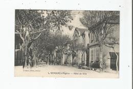NEMOURS (GHAZAOUET ALGERIE) 1 HOTEL DE VILLE (PETITE ANIMATION) - Autres Villes