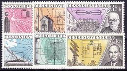 ** Tchécoslovaquie 1959 Mi 1170-5 (Yv 1053-8), (MNH) - Unused Stamps