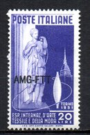 TRIESTE 1951 MINT MNH - Nuevos