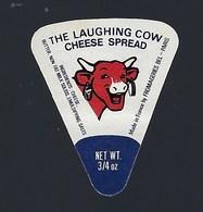 """1 étiquette Fromage """"portion""""  La Vache Qui Rit The Laughing Cow  3/4 Oz Bel Paris - Fromage"""